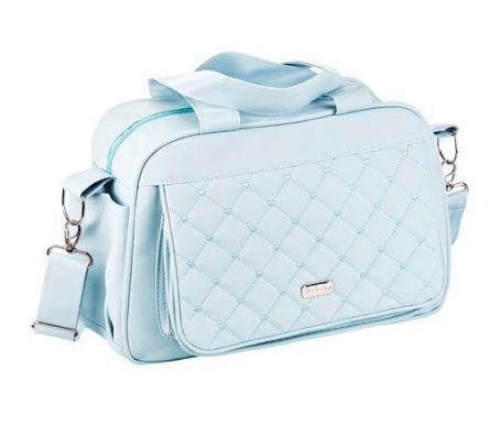 Bolsa Maternidade Clássica com Trocador - Azul