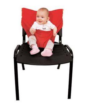 Cadeira de Pano - Cadeirão de Bolso - Vermelho
