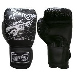 Luva de Muay Thai / Boxe Fight Brasil New Dragon Elite