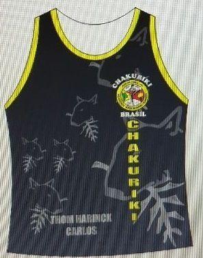 Camiseta Regata Chakuriki(uniforme oficial p/treino)