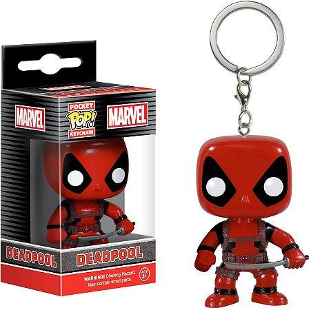 Chaveiro Pocket Pop Marvel Deadpool