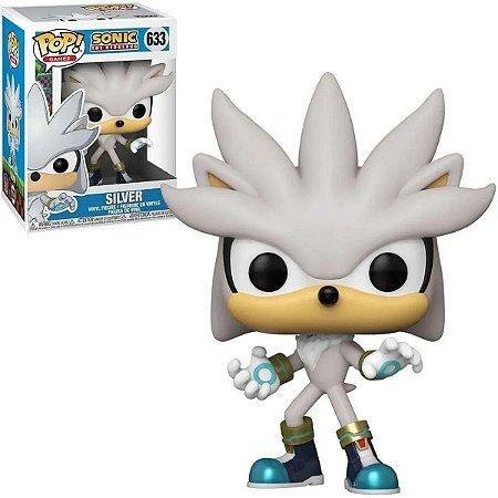Funko Pop Sonic The Hedgehog Silver #633