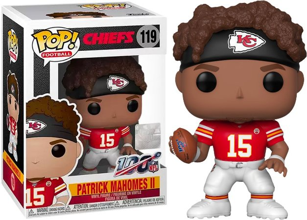 Funko Pop NFL Kansas City Chiefs Patrick Mahomes #119
