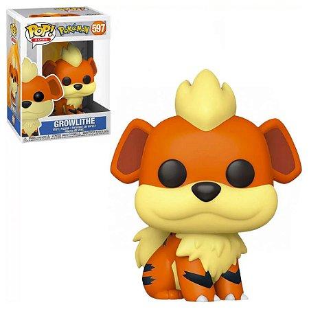 Funko Pop Pokemon Growlithe #597