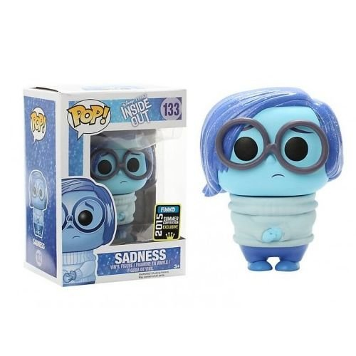 Funko Pop Disney Divertidamente Inside Out Tristeza Sadness SDCC #133