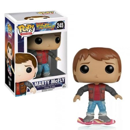 Funko Pop De Volta para o Futuro Marty McFly Exclusivo #245