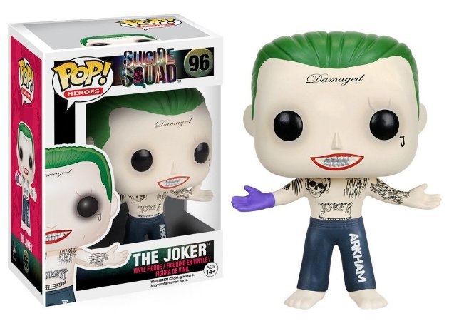 Funko Pop DC Suicide Squad The Joker Coringa #96