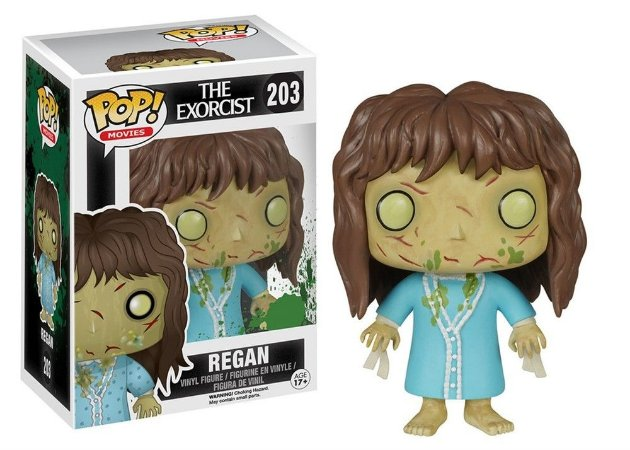 Funko Pop O Exorcista Exorcist Regan