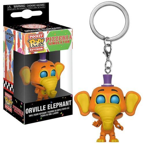 Chaveiro Pocket Pop Funko Five Nights At Freddy Orville Elephant