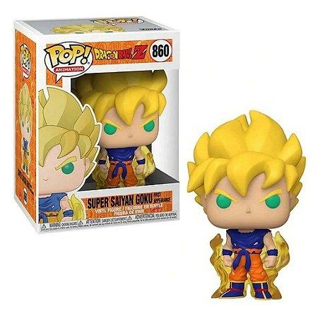 Funko Pop Dragon Ball Z Super Saiyan Goku First Apperance #860