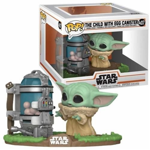 Funko Pop Star Wars Mandalorian The Child With Egg Canister #407