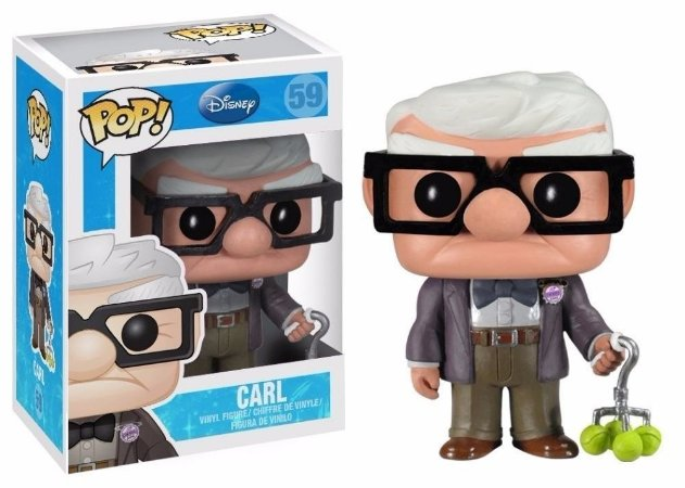 Funko Pop Disney Up Altas Aventuras Carl #59