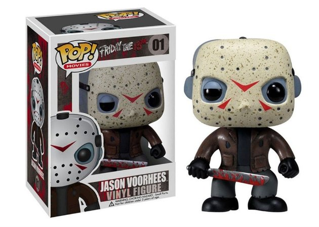 Funko Pop Terror Jason Voorhees Friday 13th #01