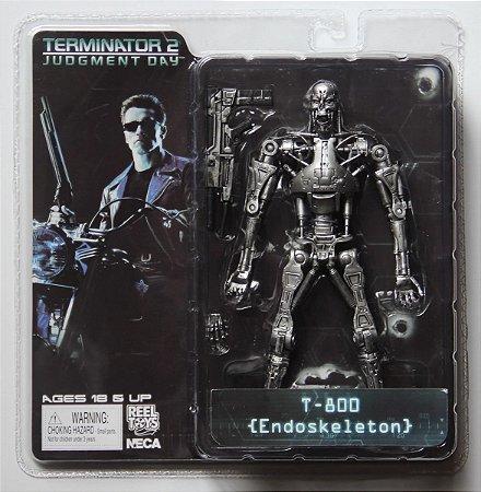 Action Figure Exterminador do Futuro 2 - T800 Endoskeleton
