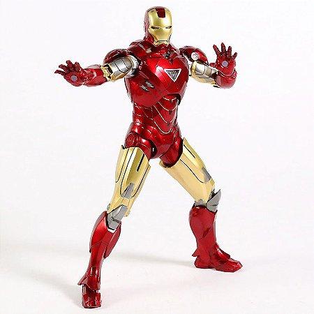 Action Figure Homem de Ferro Mark IV Articulado Marvel