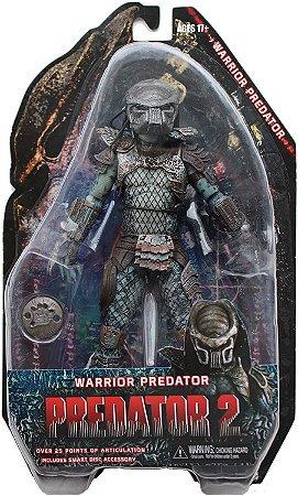 Action Figure Predator Warrior Predator 2 18cm Articulado