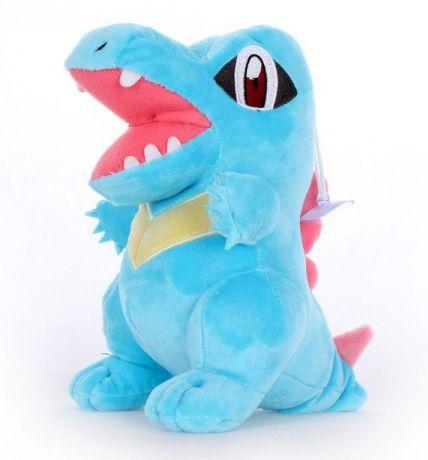 Pelúcia Pokemon Totodile Jacaré 22cm