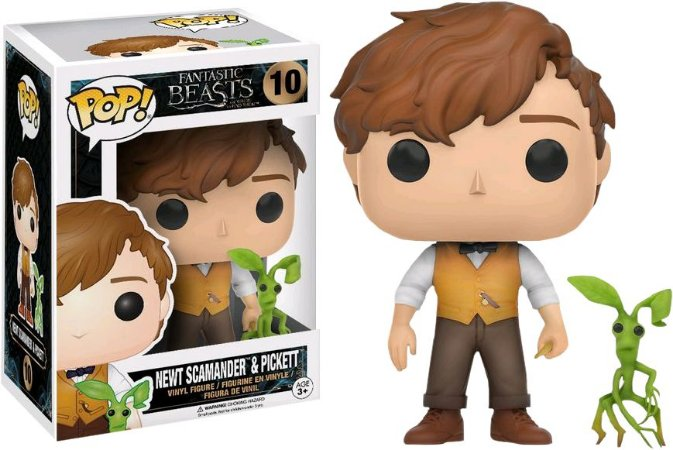 Funko Pop Animais Fantasticos Newt E Pickett #10