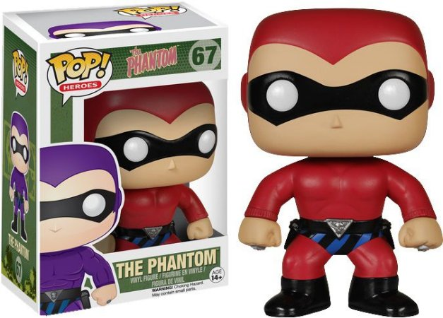 Funko Pop The Phantom Red #67