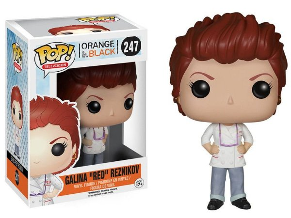 Funko Pop Orange Is The New Black Galina Red Reznikov #247