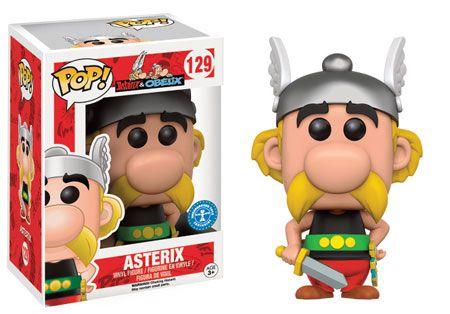 Funko Pop Asterix e Obelix Asterix Exclusivo #129