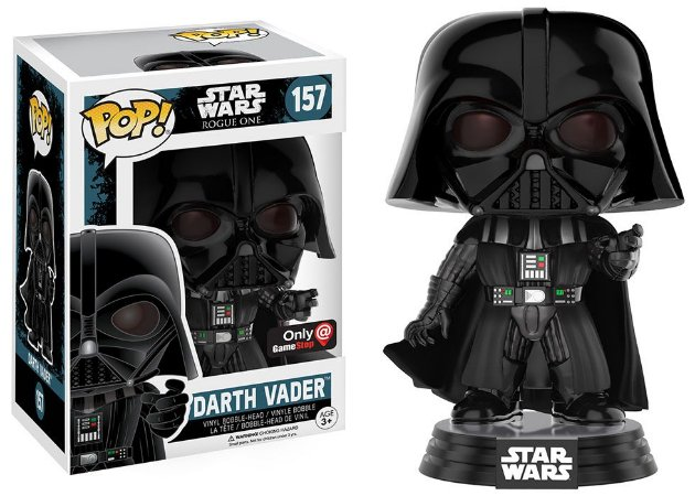 Funko Pop Star Wars Rogue One Darth Vader Force Choke Exclusivo #157