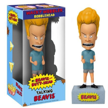 Wacky Wobbler Bobble Head Talking Beavis