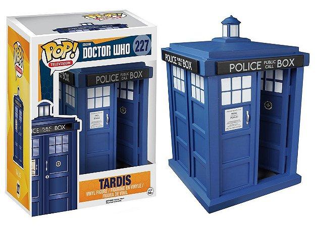 Funko Pop Doctor Who Tardis #227 SEM CAIXA