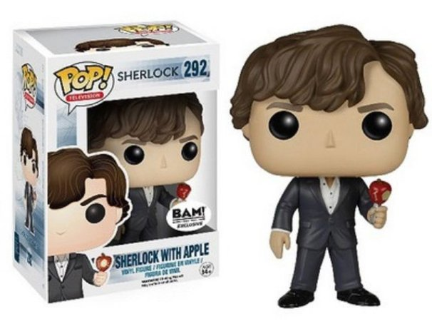 Funko Pop Sherlock With Apple Exclusivo BAM! #292
