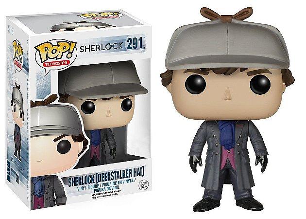Funko Pop Sherlock Deerstalker Hat Exclusivo #291