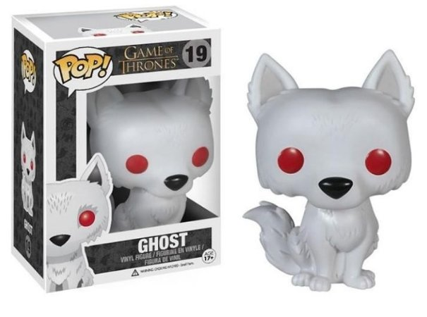 Funko Pop Game of Thones Ghost #19