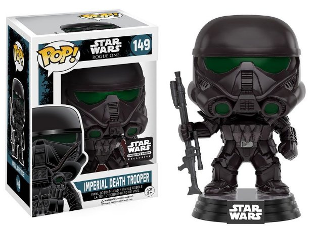 Funko Pop Star Wars Rogue One Imperial Death Trooper Exclusivo Smuggler's Bounty