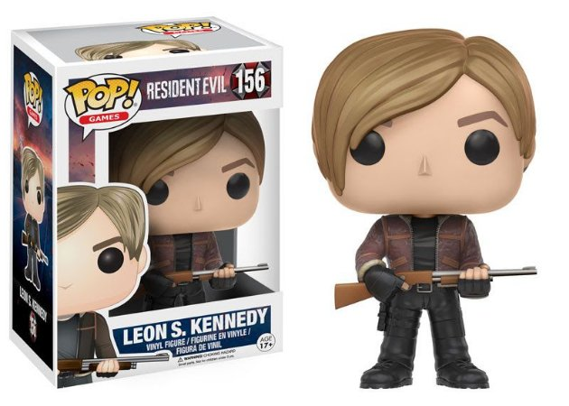 Funko Pop Resident Evil Leon S. Kennedy #156