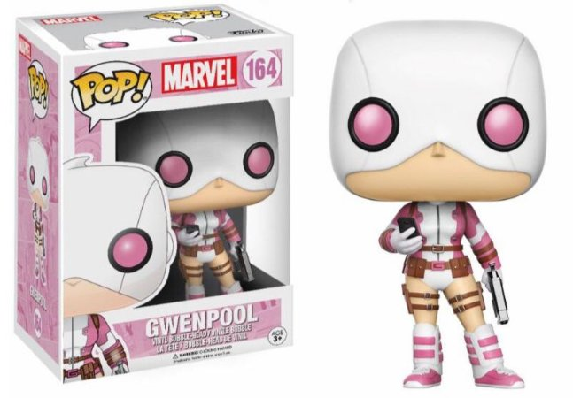 Funko Pop Marvel Gwenpool Exclusiva #164
