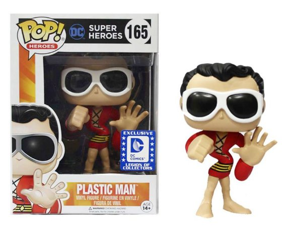 Funko Pop DC Plastic Man Exclusivo Legion of Colectors #165