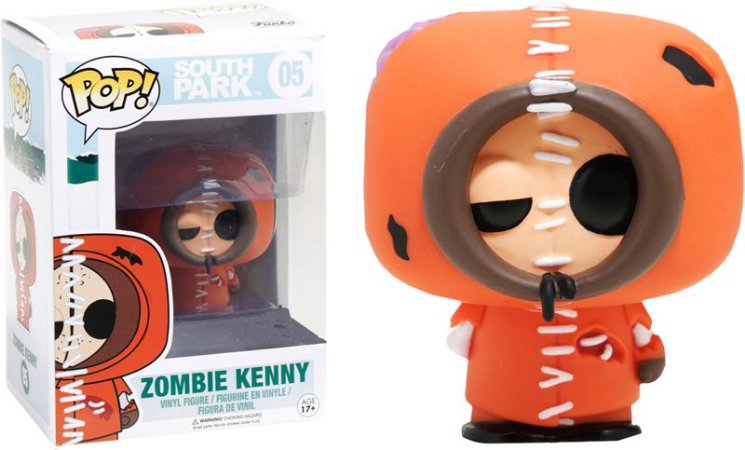 Funko Pop South Park Zombie Kenny Exclusivo #05