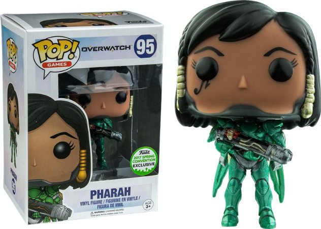 Funko Pop Overwatch Pharah Exclusivo ECCC 2017