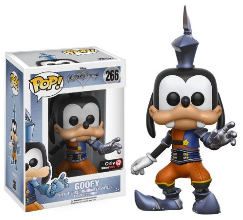 Funko Pop Disney Kingdom Heart Pateta Goofy Exclusivo GameStop #266