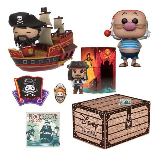 Funko Box Disney Treasures Pirate's Cove Smee
