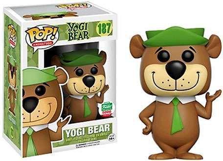 Funko Pop Hanna Barbera Ze Colmeia Yogi Bear Exclusivo Funkoshop #187