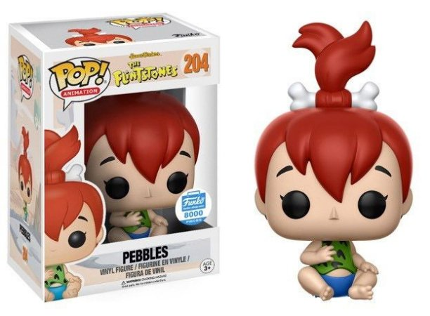 Funko Pop The Flintstones Pebbles Pedrita Exclusivo Funkoshop #204