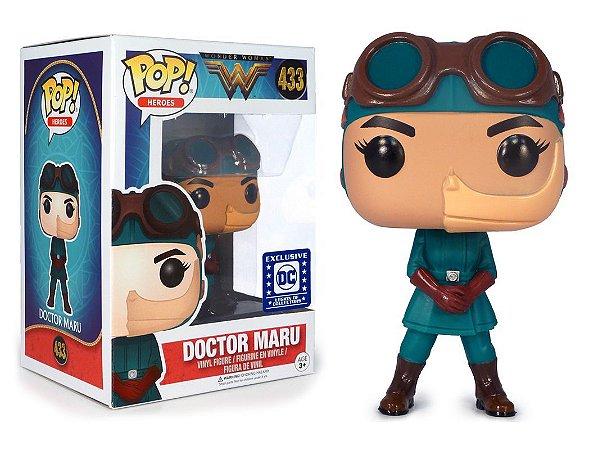 Funko Pop DC Mulher Maravilha - Doctor Maru Exclusivo Legion Collectors #433