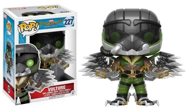 Funko Pop Spider-Man Homecoming Vulture #227