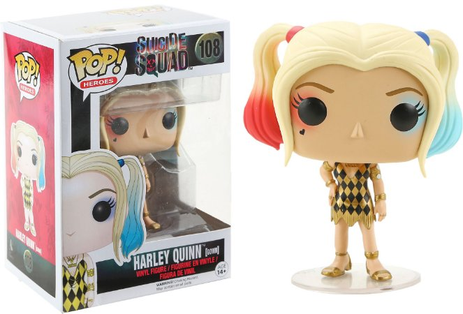 Funko Pop Suicide Squad Harley Quinn Gown Exclusivo #108