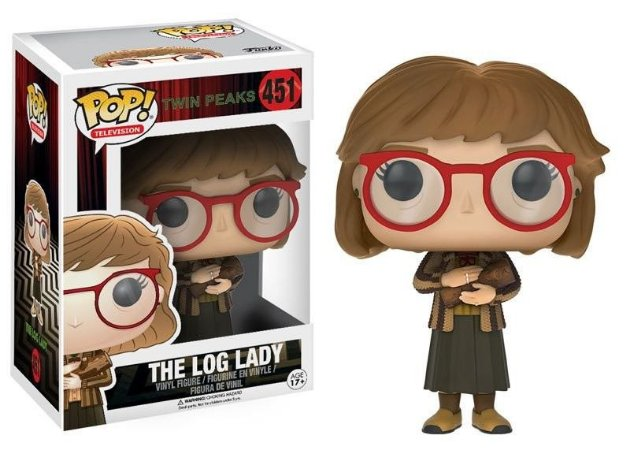 Funko Pop Twin Peaks The Log Lady# 451