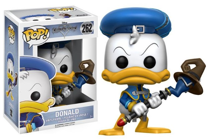 Funko Pop Disney Kingdom Hearts Donald #262