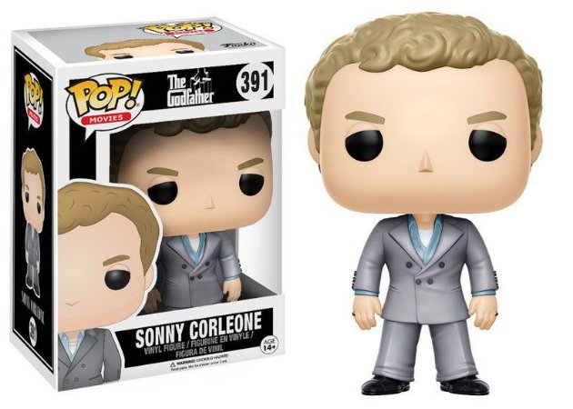 Funko Pop O Poderoso Chefão The Godfather Sonny Corleone #391