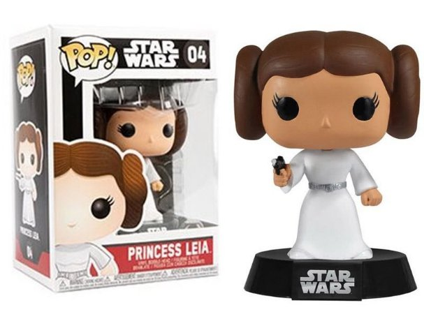 Funko Pop Star Wars Princesa Leia #04