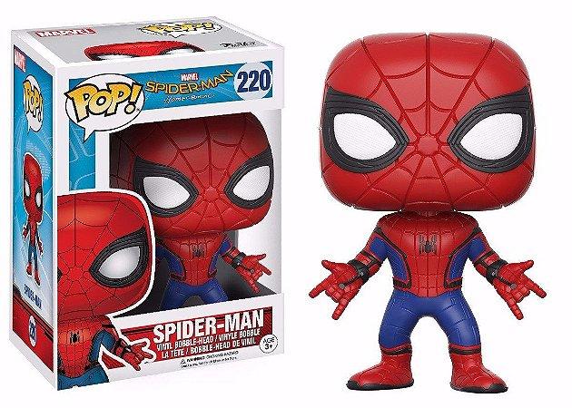 Funko Pop Marvel  Homem Aranha Spider-man Homecoming #220