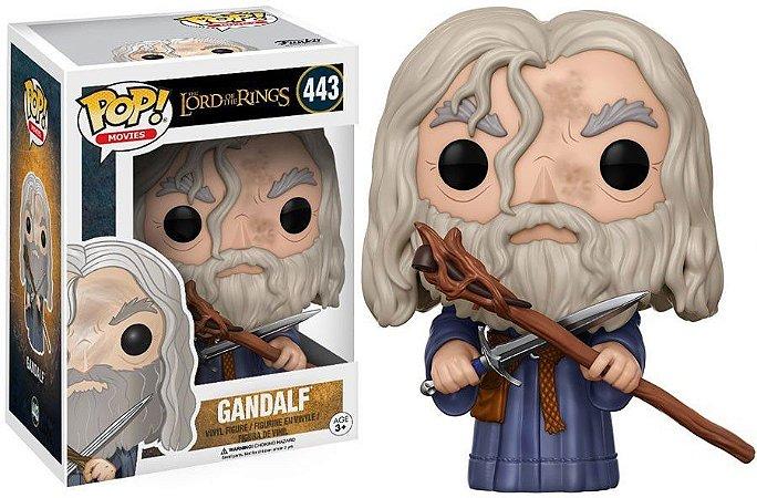Funko Pop Senhor dos Anéis Gandalf #443